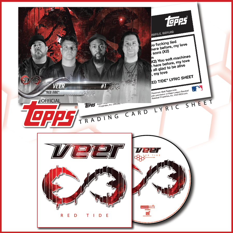 'Red Tide' Single and Trading Card Image