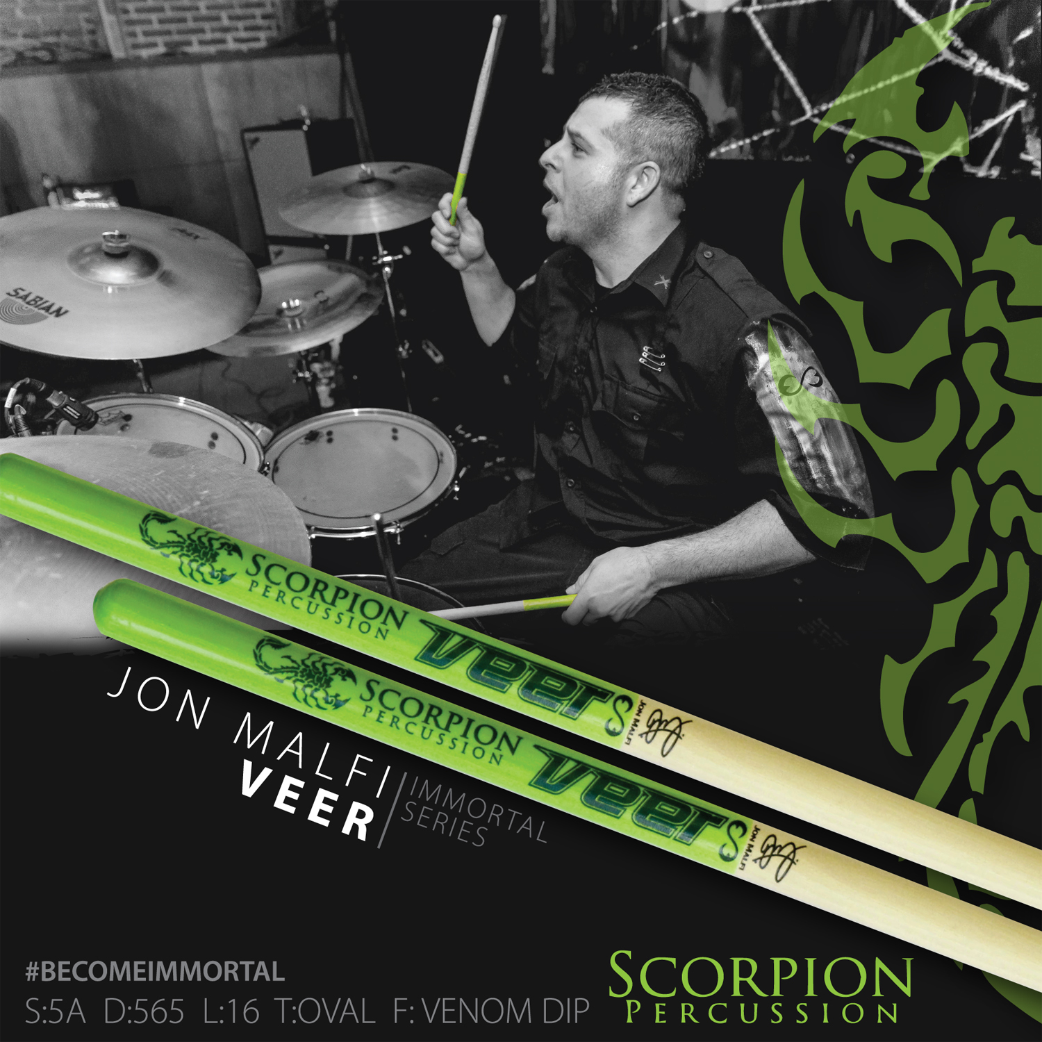 Jon Malfi Drum Sticks